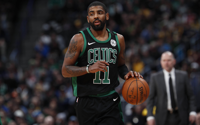 Boston Celtics guard Kyrie Irving (11)